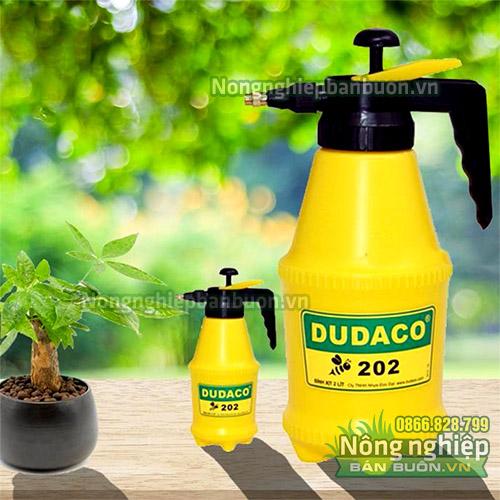 Bình tưới cây dudaco 2 lít màu vàng - BX2