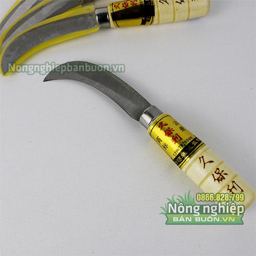 Dao ra chuối lưỡi thép trắng nhập khẩu Đài Loan - D32