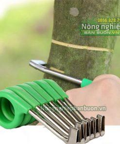 Dụng cụ khoanh vỏ cây lưỡi inox - D1