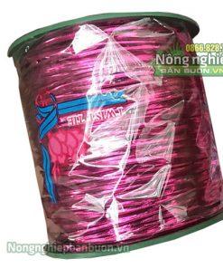 Dây kim tuyến lõi kẽm màu hồng 300m - D53