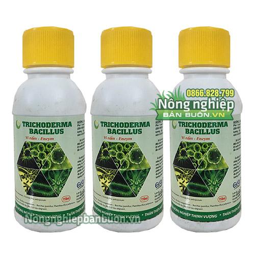 Chế phẩm Trichoderma Bacillus dạng nước ức chế nấm - T101