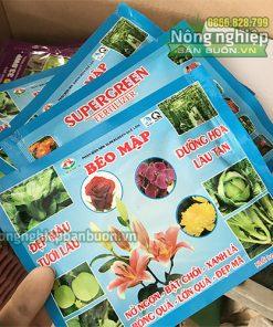 Phân bón lá mập cây, lớn trái SUPERGREEN - T47
