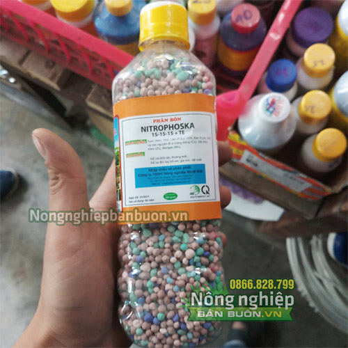 Phân bón Nitrophoska nhập khẩu CHLB ĐỨC - T39