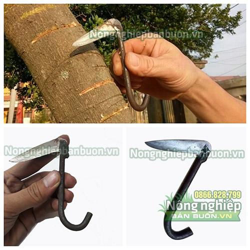 Dụng cụ khoanh vỏ cây thép rèn sắc bén - D2