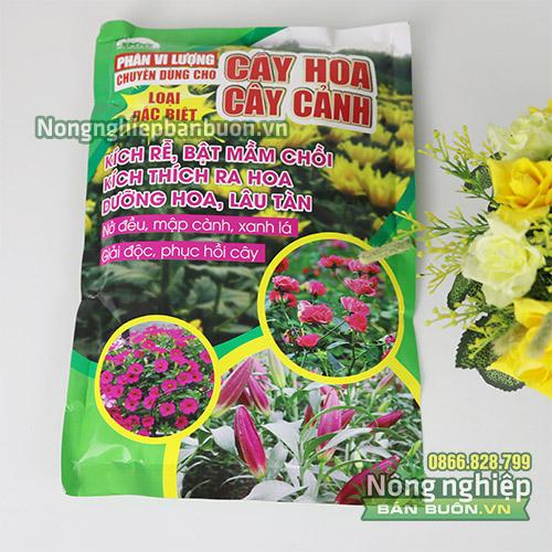 Phân vi lượng bón gốc chuyên dùng cho hoa cảnh - T112