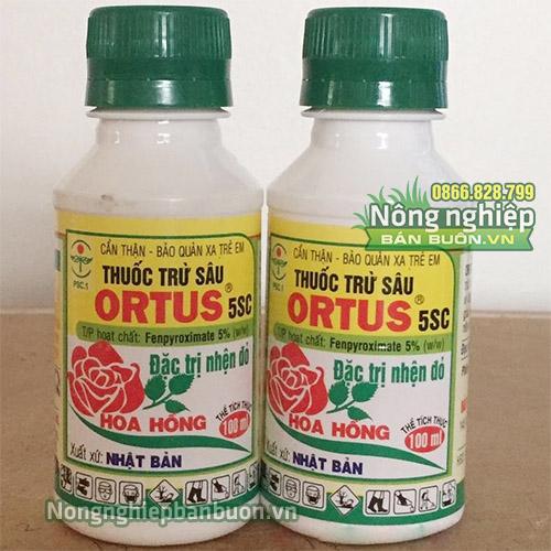 Thuốc trừ nhện đỏ cho hoa hồng Ortus 5SC 100ml - T63