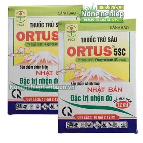 Thuốc trừ nhện đỏ Ortus 5SC - T37