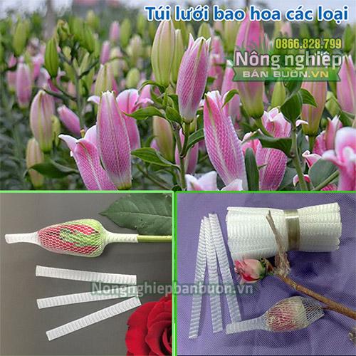 Túi lưới nhựa bao hoa (1kg)