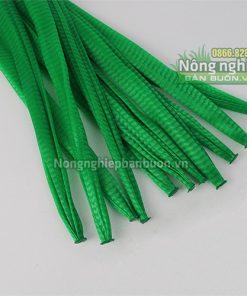 Túi lưới nhựa dài 40cm màu xanh (1kg)