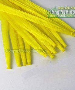 Túi lưới nhựa dài 25cm màu vàng (1kg)
