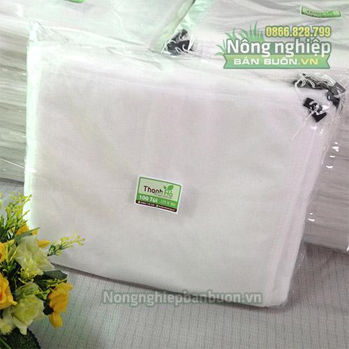Túi bao bưởi kích thước 25x30 màu trắng