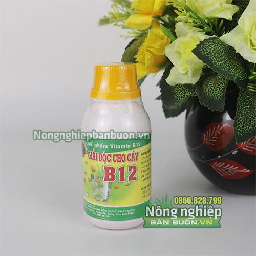 Vitamin B12 giải độc cho cây - T134