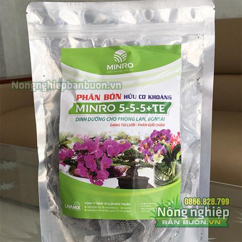 Phân bón hữu cơ khoáng Minro 5-5-5+TE - T36