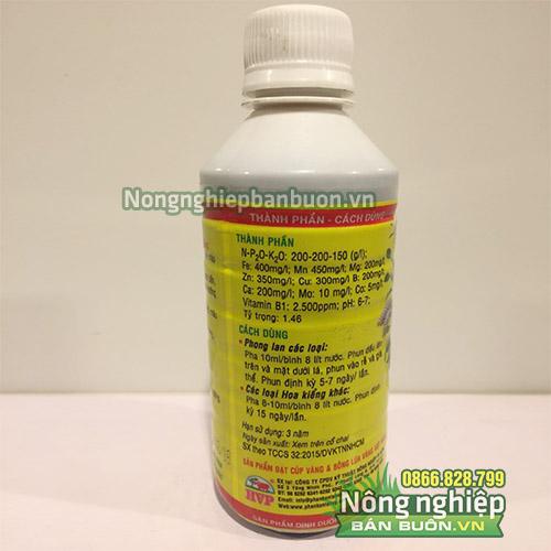 Phân bón lá Vitamin B1 cho Lan - T90