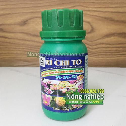 Phân Richito 20-20-20 dưỡng cây giai đoạn chuẩn bị ra hoa - T92