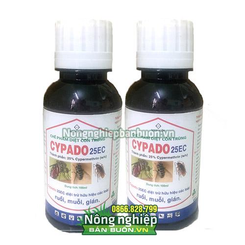 Thuốc diệt muỗi của bộ y tế CYPADO 25EC - T78