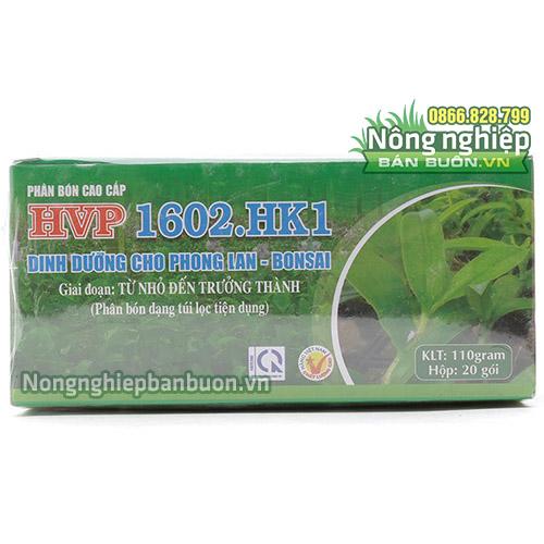 Phân bón dinh dưỡng cho lan HVP 1602.HK1- T9