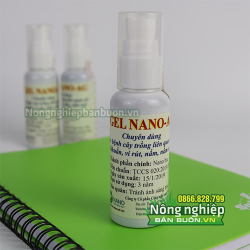 Thuốc gel Nano-Ag trị nấm, vi khuẩn hiệu quả cao - T84