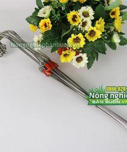 Móc treo lan siêu tốt 3 dây inox 70cm - VTK9