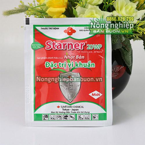 Thuốc trừ vi khuẩn trên cây trồng Starner 20WP - T151