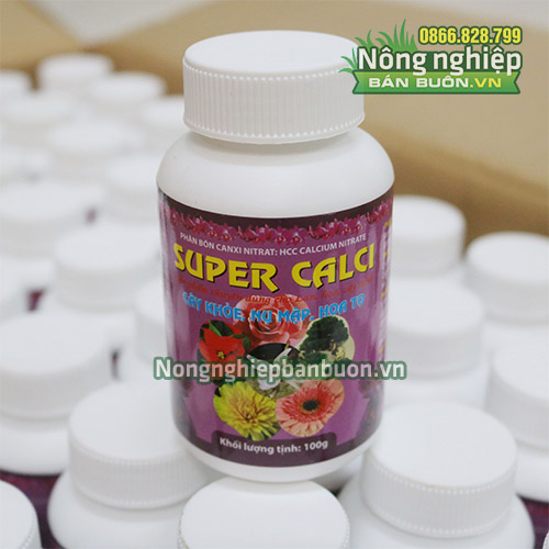 Phân bón Super Calci cho hoa kiểng - T145