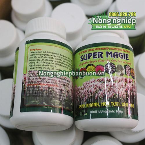 Phân Super Magie hoa tươi bền màu cho các loại hoa - T144
