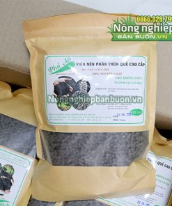 Phân trùn quế tan chậm dạng viên nén Phú An - T157