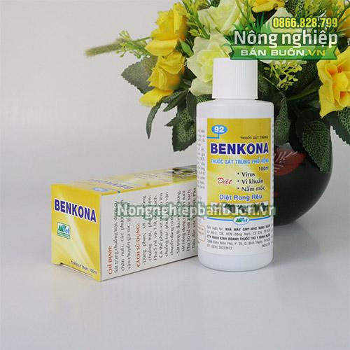 Thuốc sát trùng Benkona diệt vi khuẩn nấm mốc - T149