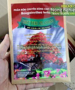 Phân bón Better Bloom kích thích hoa giấy ra hoa - T170
