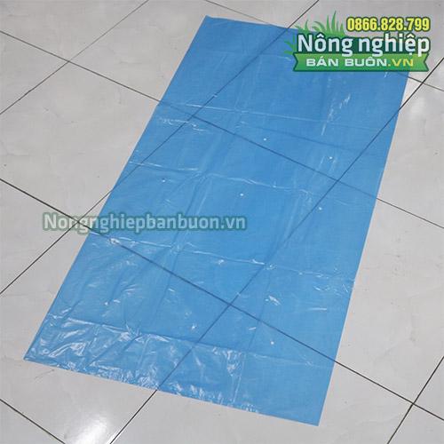 Túi Nylon bao buồng chuối 70x140cm màu xanh